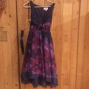 Lela Rose Hi Lo dress